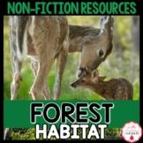 Forest Habitat Non-Fiction Resources | Close Reads & Infor