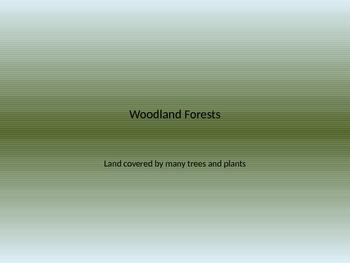 Forest Habitat Power Point