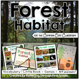 Forest Habitat for the Common Core Classroom