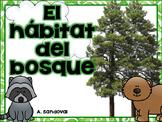 Forest Habitat in Spanish