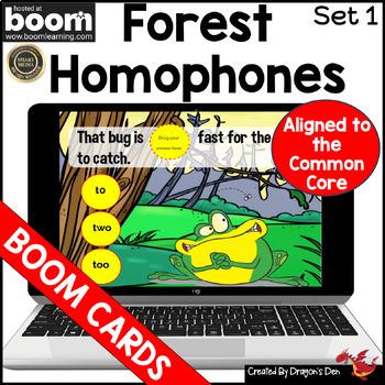 Forest Homophones: Set 1