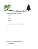 Forest Layers Quiz