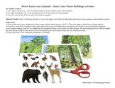 Forest Layers and Animals - Giant Poster Building (and Col
