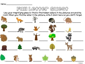 Forest Letter Quest