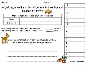 Forest Math Activities