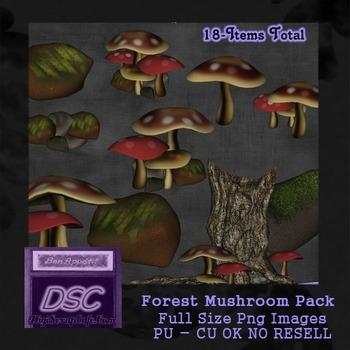 Forest Mushroom Pack