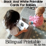 Montessori Inspired Black And White Printable Cards For Babies