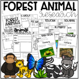 Forest / Rainforest Animal Research (K-1)