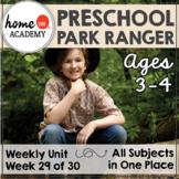 Preschool Community Helpers Printables - Park Ranger (Week 29)