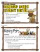 COMPOUND WORDS: Compound Words Literacy Center, Forest Animals Activity