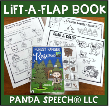 Forest Ranger Rescue:  An Interactive & Adaptive Book