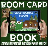 Forest Ranger Rescue Boom Book (Boom Card Activity)  Dista