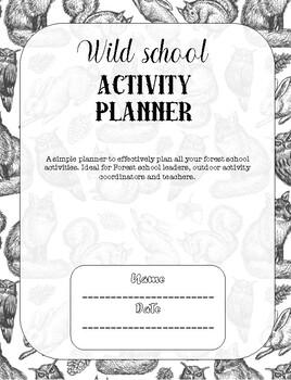Forest School Planner