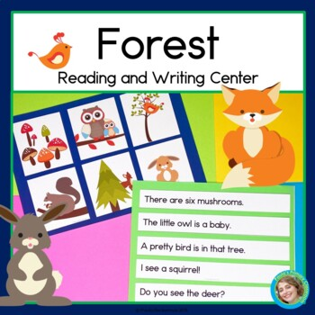 Forest Sentence Picture Match Reading Center