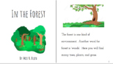 Forest Story, Comprehension, Vocabulary, and Assessment