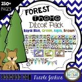 Forest Theme Decor Pack Royal Blue