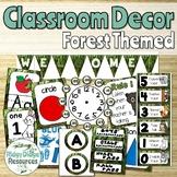 Forest Theme Classroom Decor bundle
