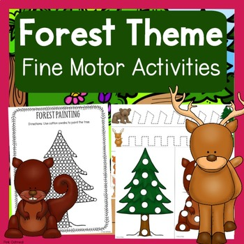 Forest Theme Fine Motor Activities