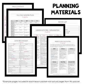 Forest Theme Home Preschool Lesson Plans