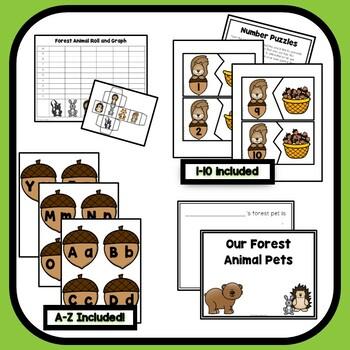 Forest Theme Preschool Lesson Plans
