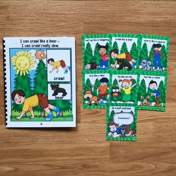 Forest Themed Movement Cards (And Book!)