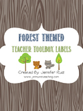 Forest Themed Teacher Toolbox
