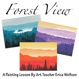 Forest View Painting