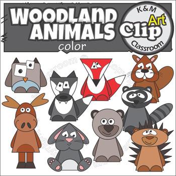 Forest Woodland Animal Clip Art