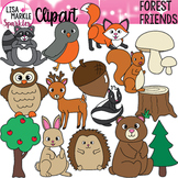 Forest Woodland Animal Clipart