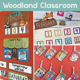 Woodland Classroom Decor Bundle / Forest Animals Classroom Decor / Editable