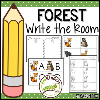 Forest Write the Room (Pre-K)