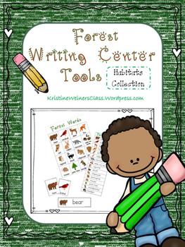 Forest Writing Center Tools: Habitat Words