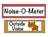 Forest and Pond Noise o Meter