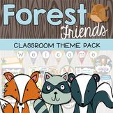 Forest Woodland Classroom Decor {Editable}