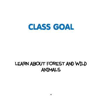 SPRING: Forest and Wild Animals Weekly Thematic Unit for Toddlers & Preschoolers