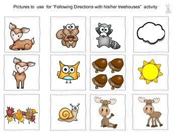 Forest Animals & Nature:  Language Activities.