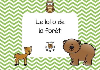 Forest bingo - loto de la forêt