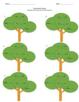 Forest theme Math/Science/Language arts/ Social Studies pack