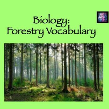 Forestry Vocab