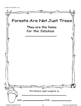 Forests Are Not Just Trees