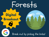 Forests - Digital Breakout (Distance Learning, Google Classroom)