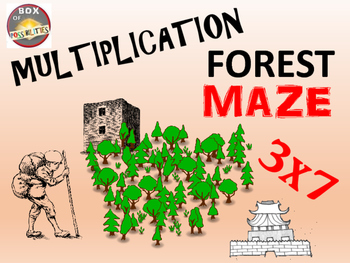 Forests Math Activity: Forest Multiplication Maze: Journey