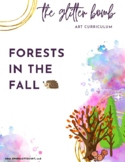 Forests in the Fall - 14+ Art Lesson Bundle - The Glitter Bomb
