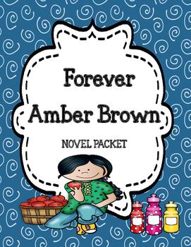 Forever Amber Brown Novel Study