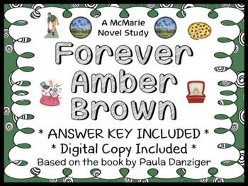 Forever Amber Brown (Paula Danziger) Novel Study / Reading Comprehension