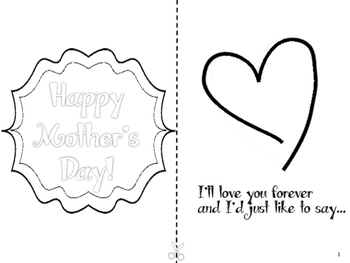 Forever Bouquet Mother's Day Booklet