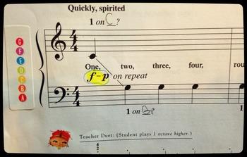 Forever Freebie Musical Alphabet Avery 8167