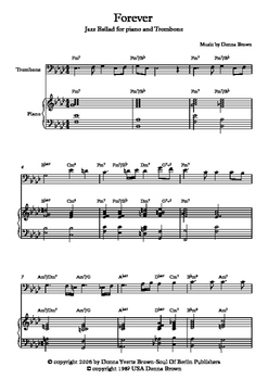 Forever-Jazz Ballad for Piano and Trombone
