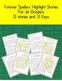 Forever Spellers 1st Grade Highlight Stories