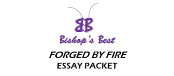 Forged by Fire Essay packet with Article & Essay Guide